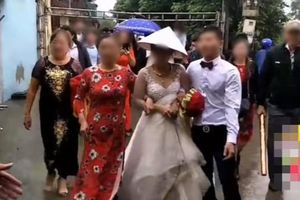 Đón cô dâu và họ hàng nhà gái vào lễ cưới, chú rể say khướt chân bước liêu xiêu khiến nhiều người ngao ngán