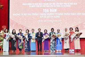 Bộ Ngoại giao kỷ niệm 90 năm thành lập Hội LHPN Việt Nam