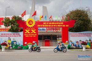 Hình ảnh Quảng Ngãi trước ngày khai mạc Đại hội Đảng bộ tỉnh lần thứ XX