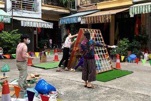 Trẻ em Hà Nội sẽ có sân chơi di động tại cộng đồng dân cư