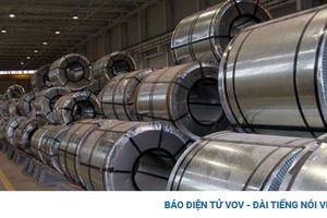 Sản lượng sắt thép xuất khẩu tăng hơn 44%