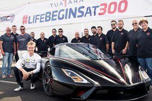 Danh hiệu xe nhanh nhất thế giới chính thức có chủ mới