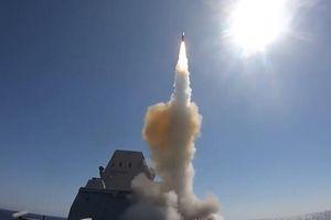Chiến hạm siêu dị của Mỹ lần đầu phóng thành công tên lửa 'sát thủ'
