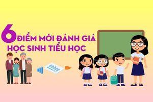 6 điểm mới đánh giá học sinh tiểu học từ 20-10-2020