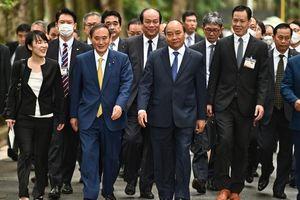Điểm nhấn chiến lược trong chuyến thăm Việt Nam của Thủ tướng Suga