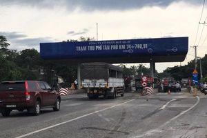 Tạm dừng thu phí trạm BOT Tân Phú trên quốc lộ 20