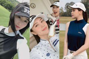 Hot girl chơi golf: Mỗi người một vẻ, mười phân vẹn mười