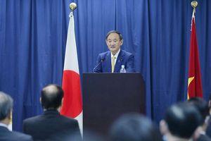 Những điểm nhấn trong bài phát biểu quan trọng của Thủ tướng Suga tại Đại học Việt-Nhật