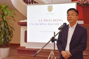 Bộ Tư pháp phát động quyên góp ủng hộ đồng bào miền Trung