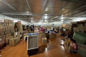 Thông tin mới về xử lý kho hàng lậu 10.000m2 tại Lào Cai