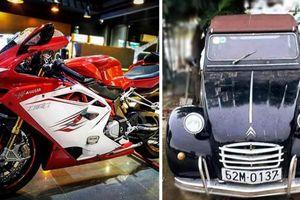 Doanh nhân đấu giá xe 'hiếm' ủng hộ người dân miền Trung