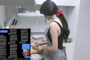 Ngày 20/10, vợ muốn nghỉ nấu cơm một bữa mà chồng 'nhắn cho cả một tờ sớ' và cái kết khiến ai cũng nức lòng