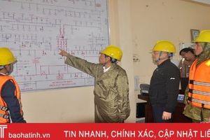 Ngành điện Hà Tĩnh khuyến cáo biện pháp an toàn trong mưa lũ