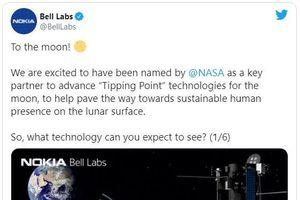 Nokia 'bắt tay' với NASA phát triển mạng 4G trên mặt trăng