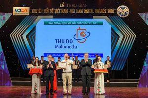 Hai giải pháp của Thudo Multimedia được giải Chuyển đổi số Việt Nam năm 2020