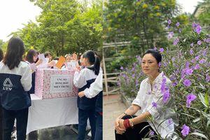 Cô Văn Thùy Dương chia sẻ khoảnh khắc thầy trò trường Lương Thế Vinh ủng hộ miền Trung 'ruột thịt' và bức tâm thư gây xúc động