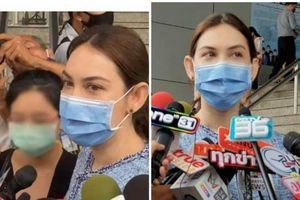 'Mợ chảnh' Thái Lan rơm rớm nước mắt khi nói về những đau đớn khi bị chửi rủa suốt 2 năm qua, kiện antifan 1 triệu bath vì làm tổn hại danh tiếng
