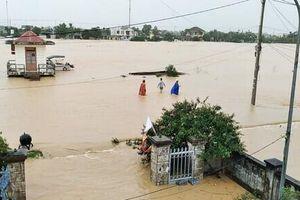 Bốn học sinh ở Quảng Trị tử vong vì mưa lũ