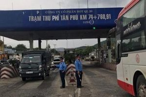 Tạm dừng thu phí tại trạm thu phí BOT Tân Phú
