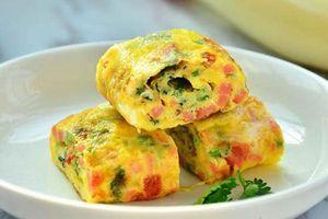 Đổi vị với món trứng chiên phô mai thơm ngon, lạ miệng