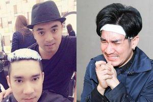 Ca sĩ Quang Hà ôm mặt khóc từ biệt người anh trai mới qua đời