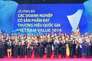 Chương trình Thương hiệu quốc gia: Khẳng định giá trị, đồng hành doanh nghiệp