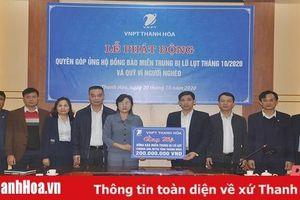 VNPT Thanh Hóa ủng hộ đồng bào lũ, lụt và người nghèo 550 triệu đồng
