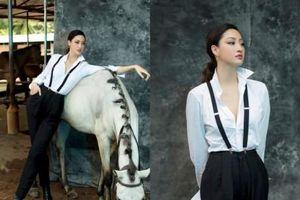 Khánh Vân, Lương Thùy Linh mới lạ với phong cách menswear
