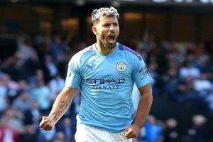 Aguero trở lại, Man City lợi hại gấp bội