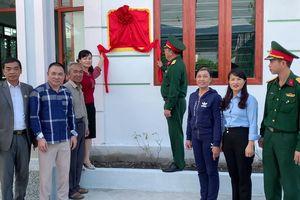 Ban CHQS TP Móng Cái: Khánh thành, bàn giao 'Nhà tình nghĩa'