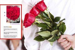 Chàng trai đi xin hoa để tặng người yêu vào ngày 20/10 khiến dân mạng tranh cãi nảy lửa
