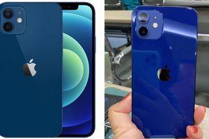 Cận cảnh iPhone 12 'bằng xương bằng thịt': Màu xanh dương khiến các iFan thất vọng
