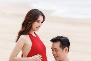 Ca sĩ Sara Lưu sinh đôi con đầu lòng
