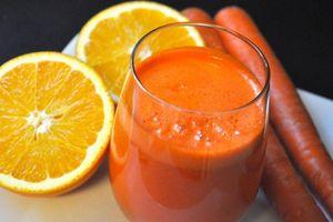 Các công thức nước ép cà rốt ngon và dễ làm
