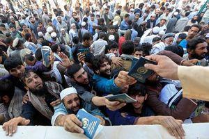 Giẫm đạp xin visa Pakistan, 15 người thiệt mạng ở Afghanistan
