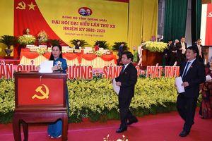 Quảng Ngãi: Ban chấp hành Đảng bộ giảm 5 người so với nhiệm kỳ trước