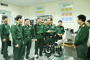 Thượng tướng Phan Văn Giang kiểm tra, làm việc tại Cục Tiêu chuẩn - Đo lường - Chất lượng