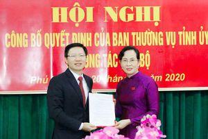 Giám đốc Sở Công thương được điều động làm Trưởng Ban Dân vận Tỉnh ủy Hà Nam