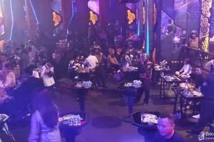 Phát hiện 15 đối tượng 'bay lắc' tại bar Viktor ở TP. Vinh