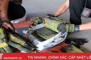2,3 tấn cocaine vùi trong container than ở Paraguay
