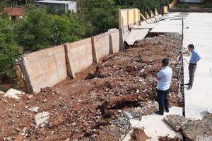 Công trình tiền tỷ tại trường học ở Đắk Nông bị sập... do nhiều sai phạm