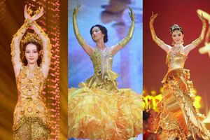 Bộ váy huyền thoại của Nữ thần Kim Ưng bị chê mỗi năm càng thêm sến súa