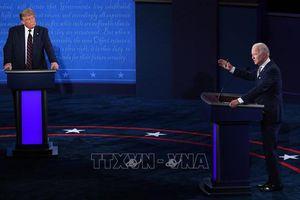 Tranh luận bầu cử Mỹ áp dụng chiến thuật 'tắt micro'