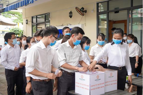 Tập đoàn Hưng Thịnh ủng hộ gần 1,3 tỷ đồng cho đồng bào vùng lũ miền Trung
