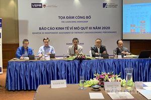 VEPR dự báo GDP Việt Nam năm 2020 có thể đạt 2,8%