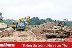 Huyện Thạch Thành đẩy nhanh tiến độ xây dựng các công trình, dự án