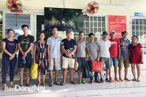 Bắt tụ điểm đánh bạc tại P.Tân Biên