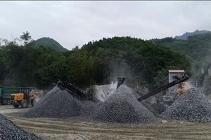 Huyện Lục Yên (Yên Bái): Mỏ cát, đá gây ảnh hưởng môi trường nghiêm trọng