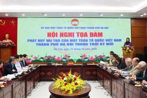 Phát huy vai trò của Mặt trận Tổ quốc Việt Nam thành phố Hà Nội trong thời kỳ mới