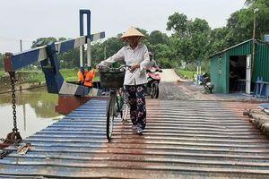 Tỉnh Thanh Hóa chỉ đạo liên sở kiểm tra vụ gần 800 người dân 'run rẩy' mỗi khi qua cầu phao